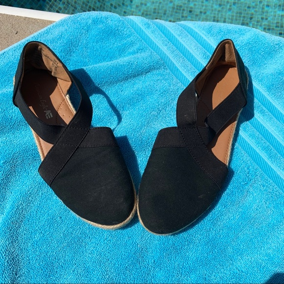 American Eagle Outfitters Shoes - AE By Payless Black Espadrillas
